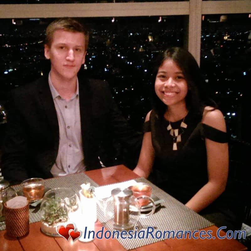 the lucky Western guy for a lucky indonesian lady